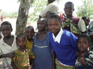 Village kids in Kenesi, Tanzania