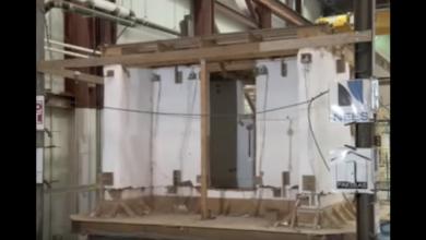 Photo of Straw Building Passes Quake Test