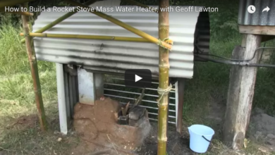 Photo of How to Build a Rocket Stove Mass Water Heater