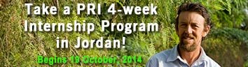 PRI 4-Week Permaculture Internship Program in Jordan