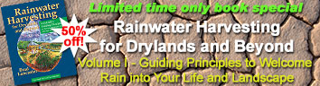 Rainwater Harvesting for Drylands and Beyond – Volume I