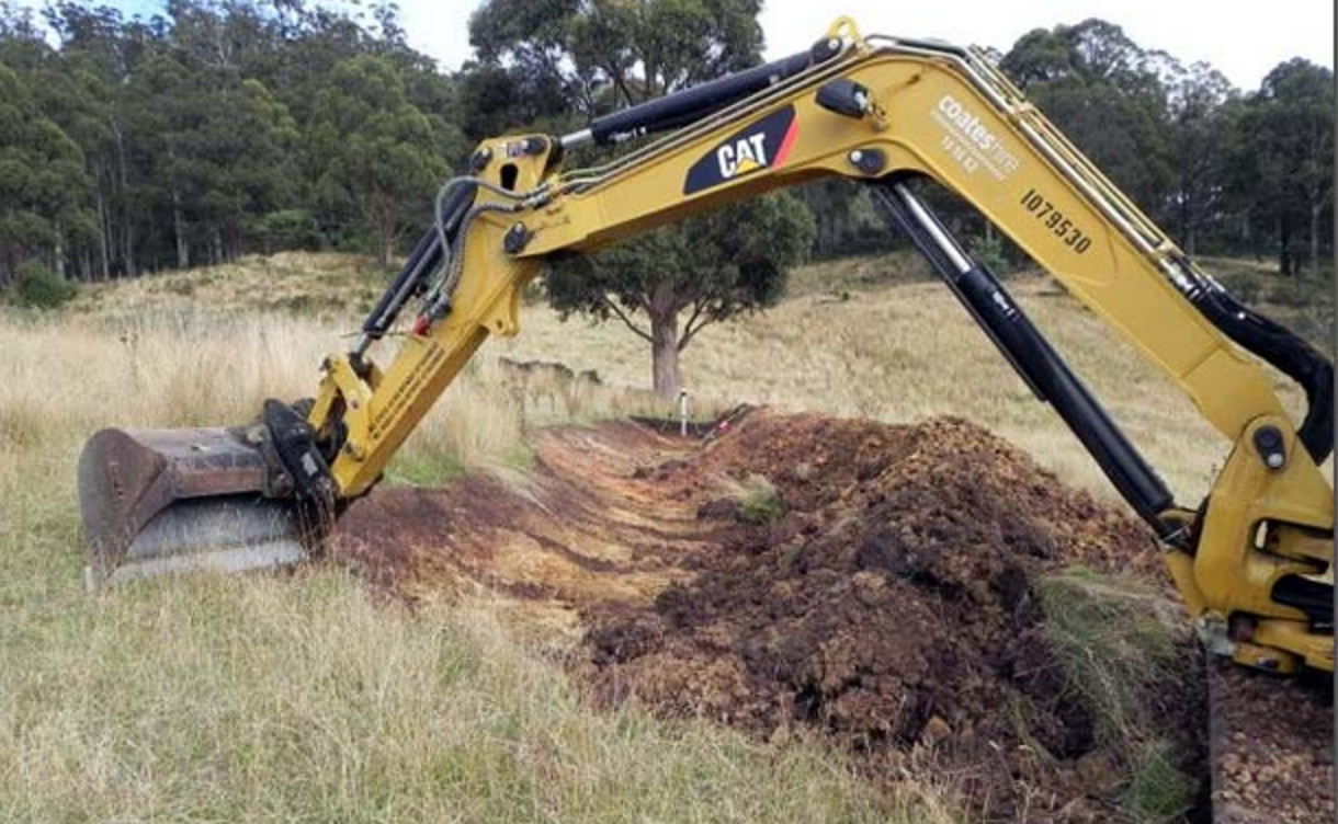 Photo of A Chance to Dig For Permaculture Gold in Tasmania With Ringo (Earthworks Courses, February 2015)