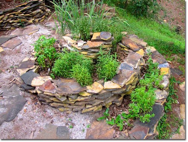 The Magic and Mystery of Constructing a Herb Spiral and