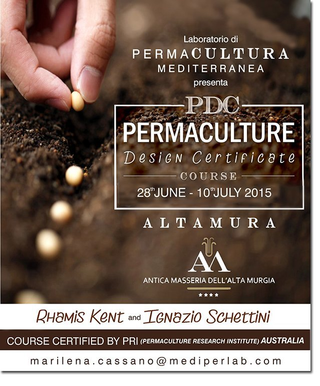 PDC (Permaculture Design Certificate) Antica Masseria dell\'Alta ...
