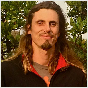 Permaculture teacher Damien Bohler