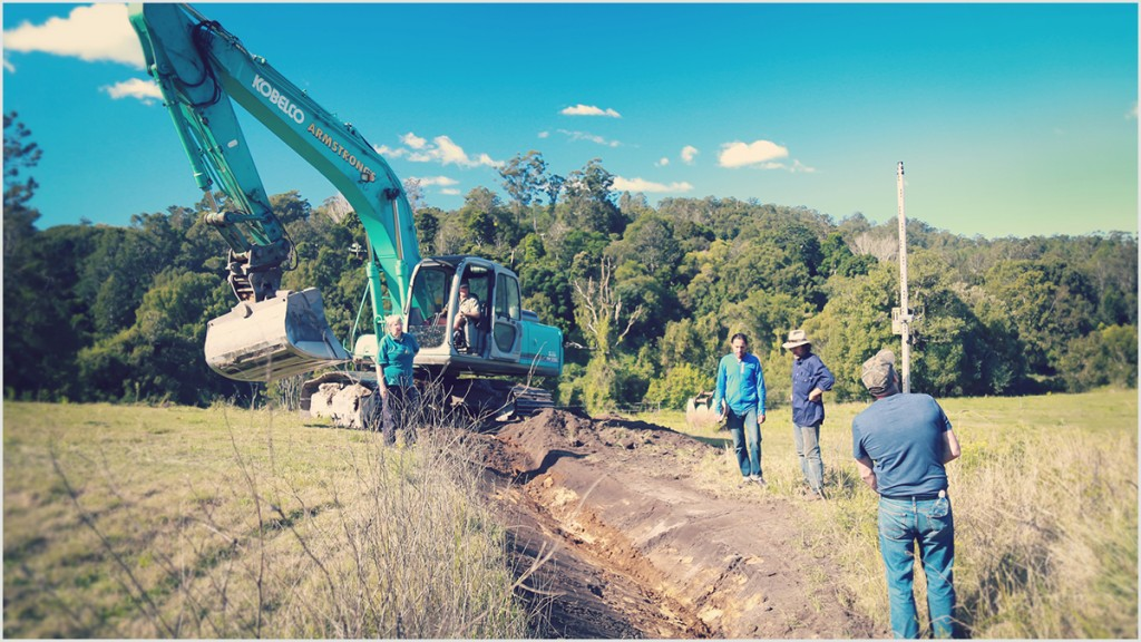 Earthwork Construction Management : Earthworks water harvesting the permaculture research