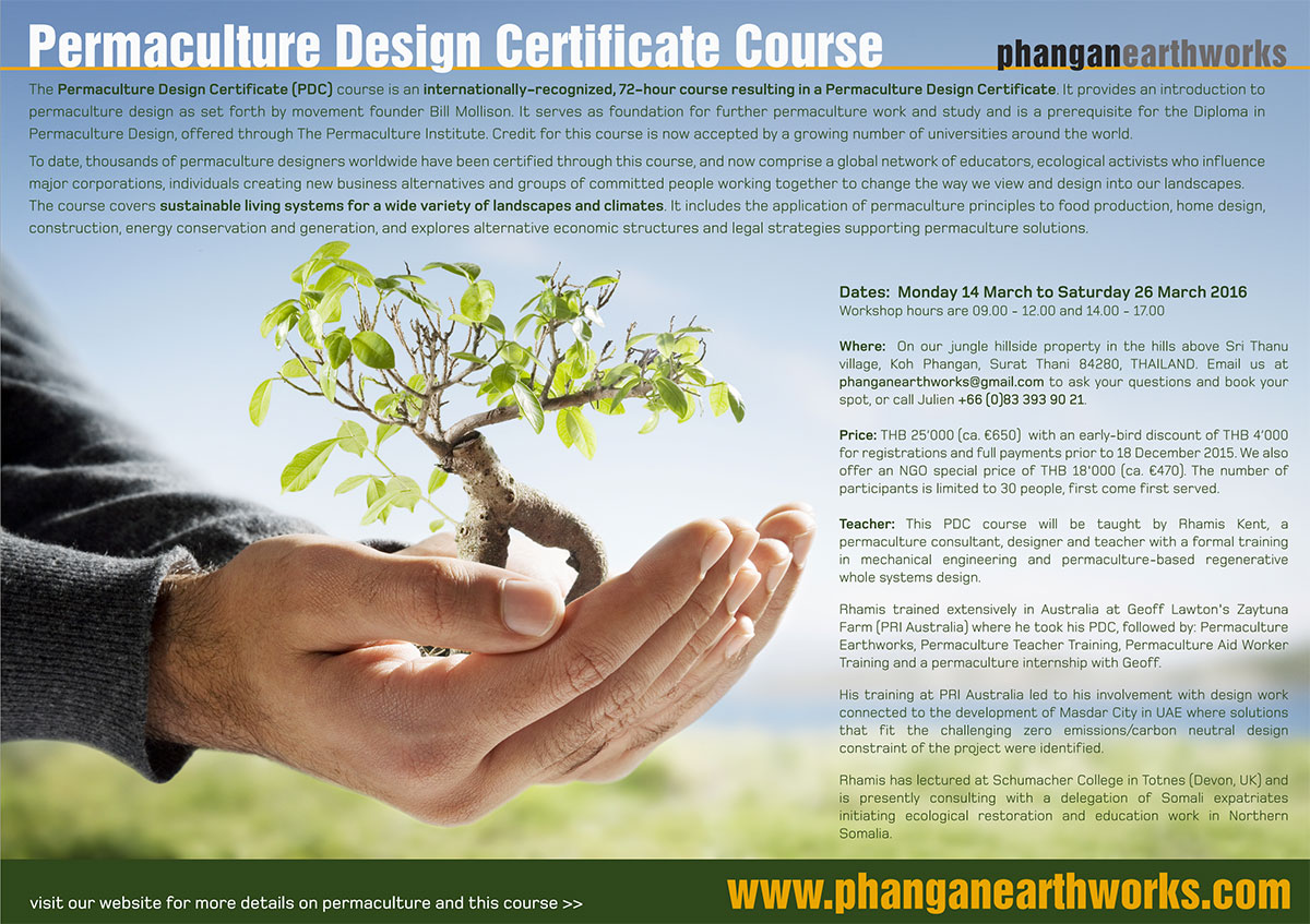 Permaculture Design Certificate - The Permaculture Research Institute
