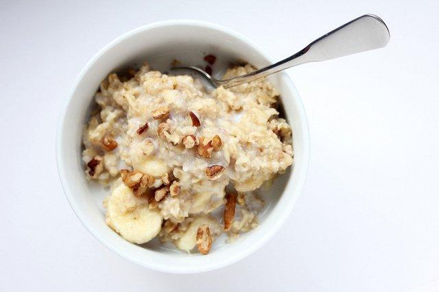 Porridge and milk (Courtesy of Rachel Hathaway)