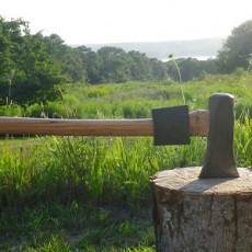 chopping axe