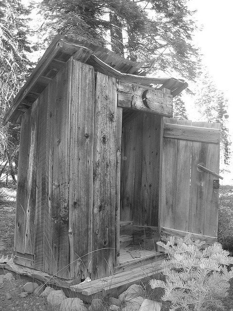 Outhouse/Privy (Courtesy of Shawn Ford)