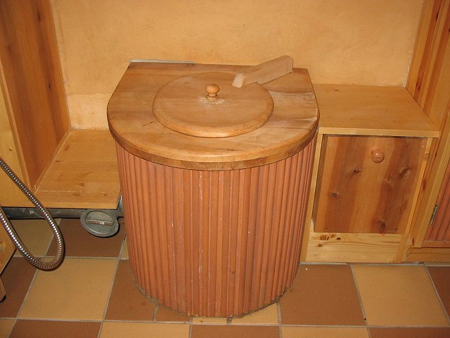 Classy Indoor Dry Composting Toilet System (Courtesy of SuSanA Secretariat)