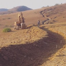 Morocco Design and Install of Mainframe Earthworks