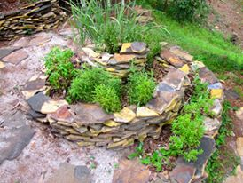 Herb Spiral, Photo Courtesy of Emma Gallagher