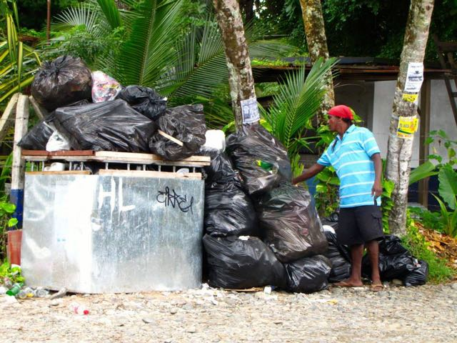 The Garbage Overflow, Photo by Emma Gallagher