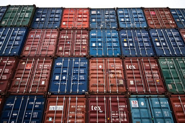 Shipping Containers (Courtesy of Hakan Dahlstrom)