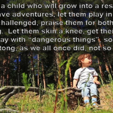 Raising Resilient Kids in a World Full of Wusses Feat