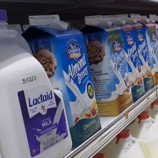 Those Glowing LED Lit Milk Cases on Supermarket Shelves may be Degrading Milk
