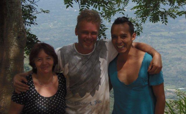 Margoth, Rene and Cris