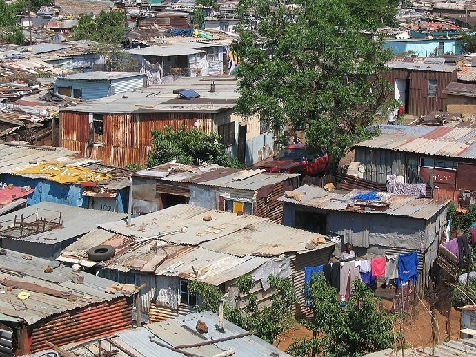 South African Shanty Town: Matt-80
