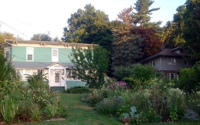 Urban Permaculture Transformation in Michigan 09