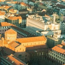 Overview of the city of Milan