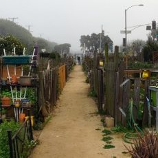 Community Garden in  Santa Monica, California