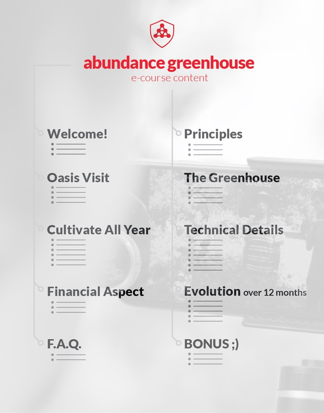 Greenhouse of Abundance and Food Self-Sufficiency 13