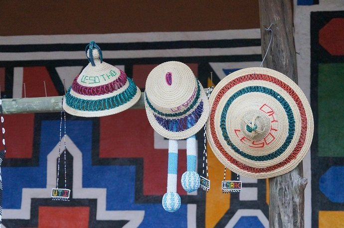 Beautiful hats for sell in South Africa.