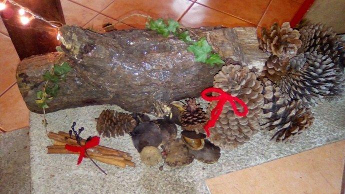 Yule Log Display. Image Courtesy Jonathon Engles.