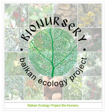 Balkan Ecology Project Bio-Nursery