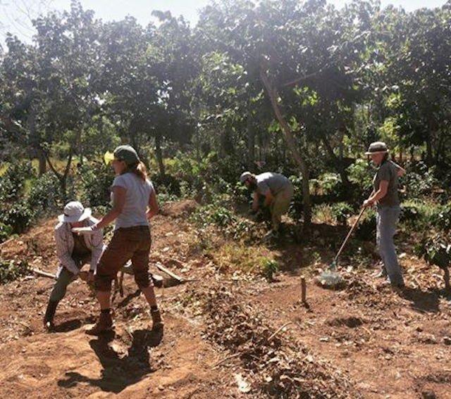 Volunteers at Garden of Hope (Claire Henkel)