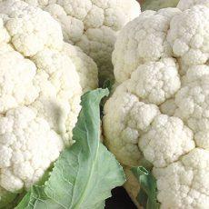 two beautiful cauliflowers