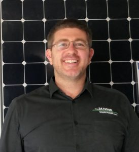 A portrait of Mike Haydon from 24 Hour Solar