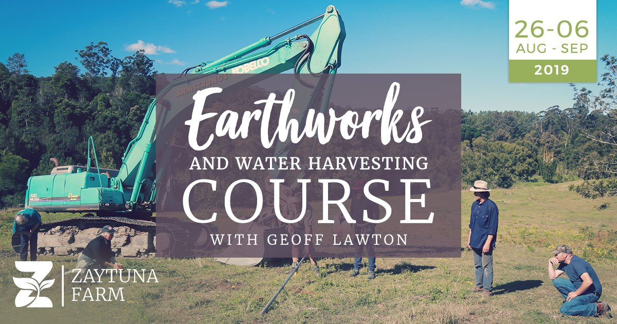 Permaculture earthworks course