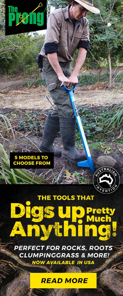 The Prong The tools that dig up pretty much anything perfect for roots, rocks & clumpinggrass read more...