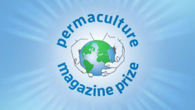 Photo of The Permaculture Magazine Prize and the Youth in Permaculture Prize.