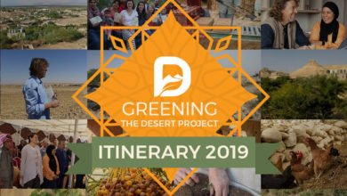 Photo of Greening the Desert Project Itinerary for 2019 and new website announcement!