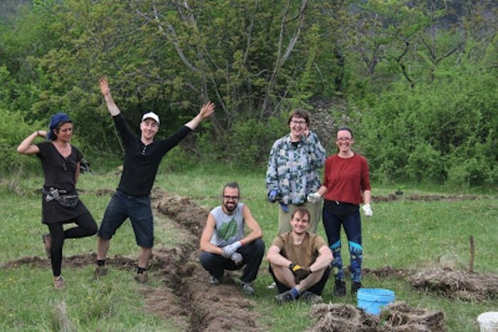 Balkan Ecology Course Students
